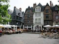 Tours : Place Plumereau